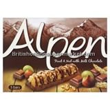 Alpen Fruit And Nut with Milk Chocolate Cereal Bar 5x29g £2.29