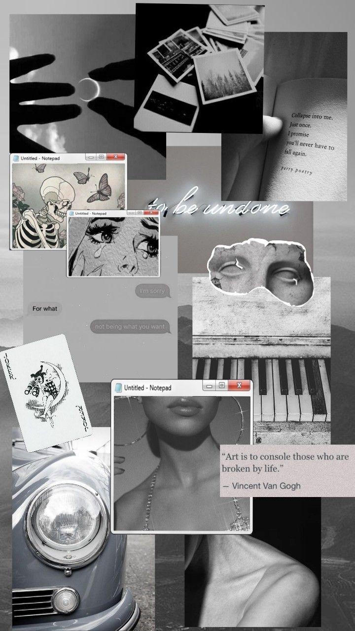 Wallpapers Gray Aesthetic Grey Wallpaper Iphone Black Aesthetic Wallpaper
