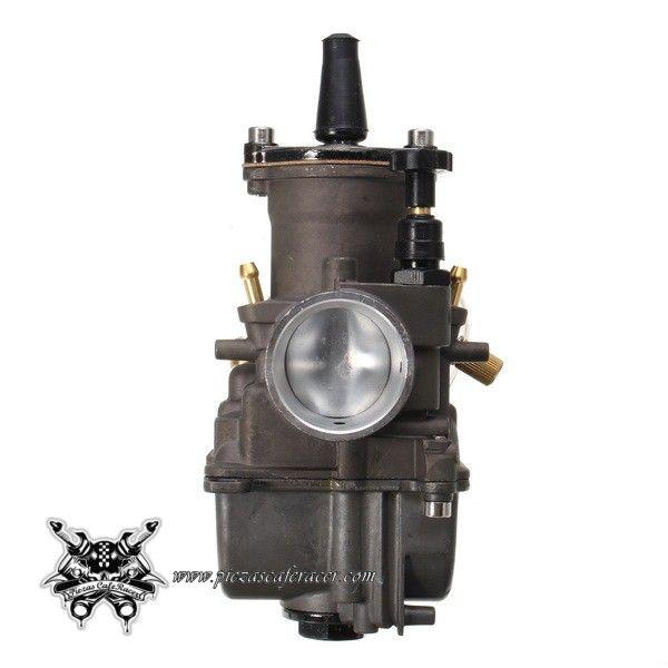 45,84€ - ENVÍO GRATIS - Carburador de Moto Alta Competición Universal 28mm 30mm 32mm 34mm Desde 100cc hasta 400cc