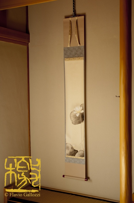 The tokonoma is the most important place of a traditional Japanese house. Photo © Flavio Gallozzi - All rights reserved.