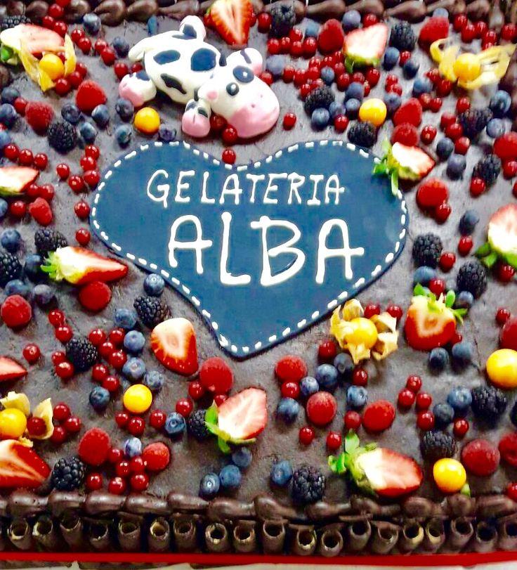 E' iniziata la stagione del gelato. Sempre con Alba! #gelati #gelateria #albagelato #gelatoalba #gustigelato #gelatofrutta #gelatocrema #top
