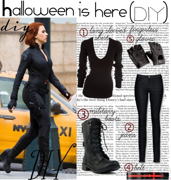 """Halloween DIY"" by muzix-luver ❤ liked on Polyvore"