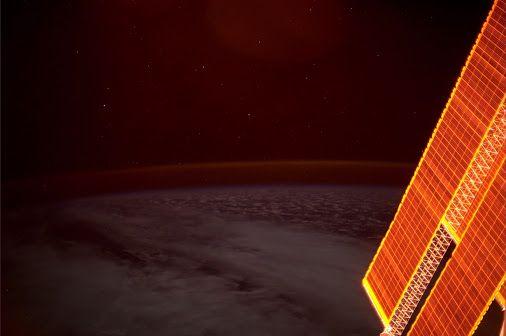 Bei Sonnenuntergang sehen unsere Solarpanele aus, als wären sie aus purem Gold…