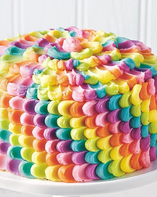 25 best ideas about petal cake on pinterest rainbow for Rainbow petals
