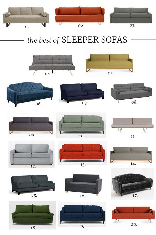 Cool Hunting // The Best of Sleeper Sofas | The Effortless Chic