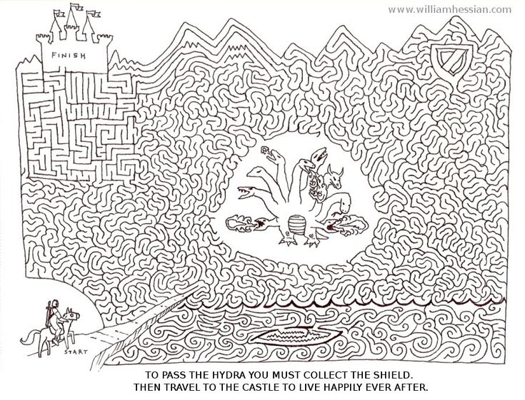 Bearded Bunny Blog: Free printable mazes
