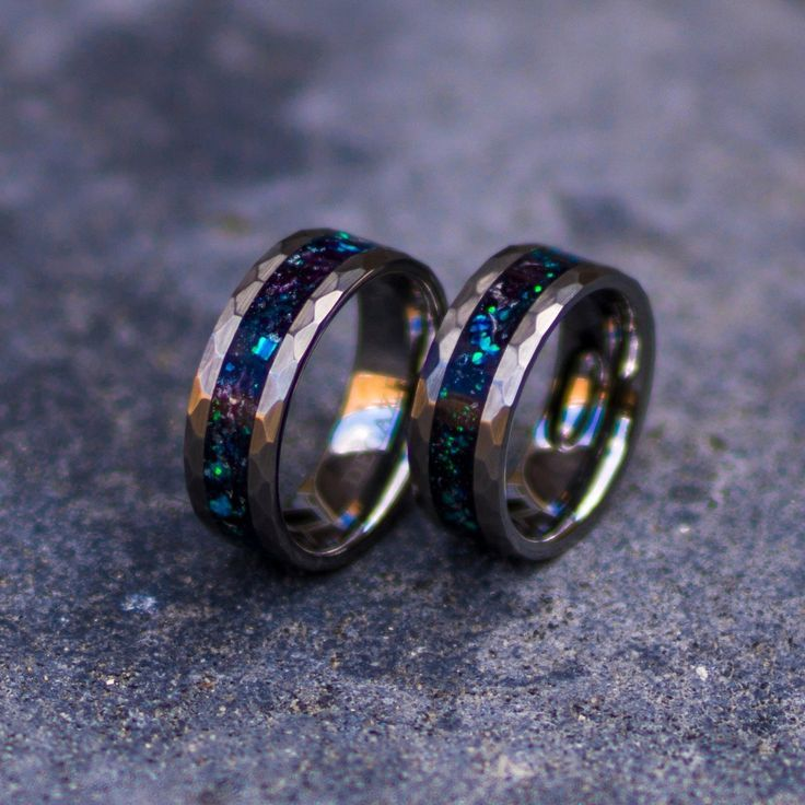 bague homme galaxy