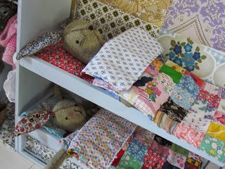 Like the little quilts.