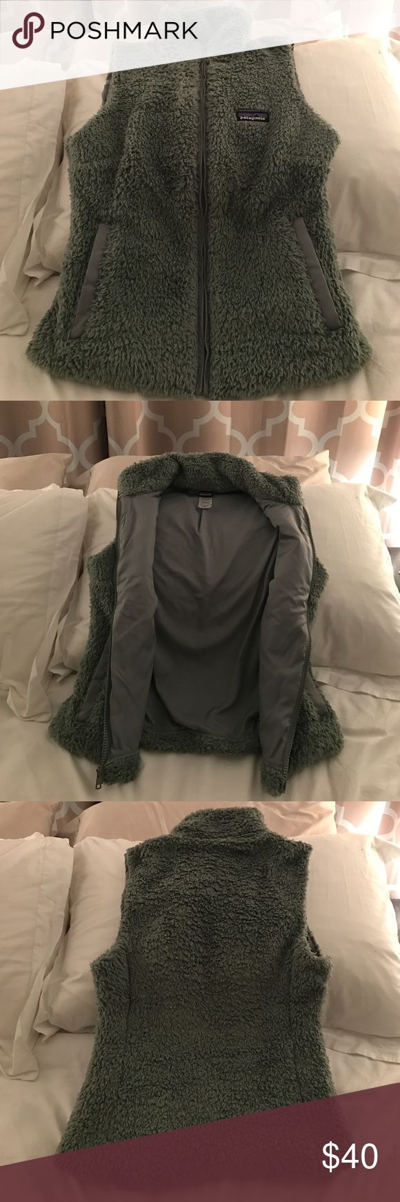 Patagonia Los Gatos best -green Perfect condition and very soft! Firm on price Patagonia Jackets & Coats Vests