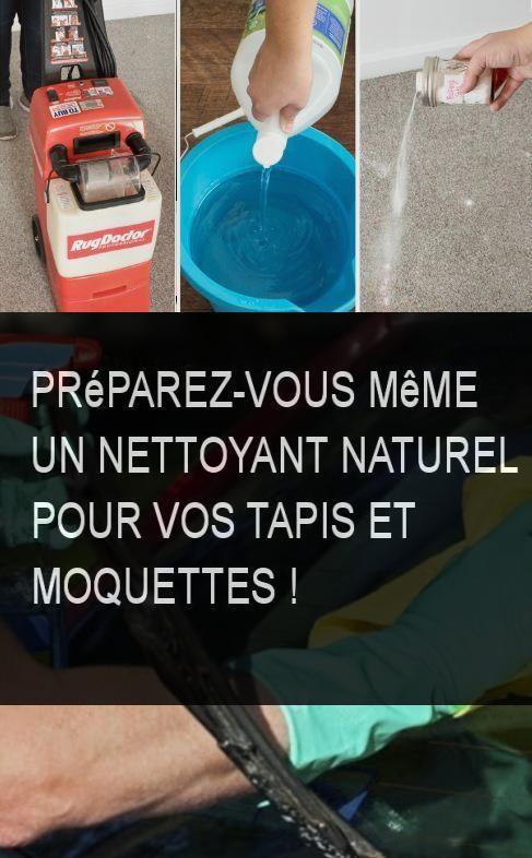 Preparez Vous Meme Un Nettoyant Naturel Pour Vos Tapis Et Moquettes