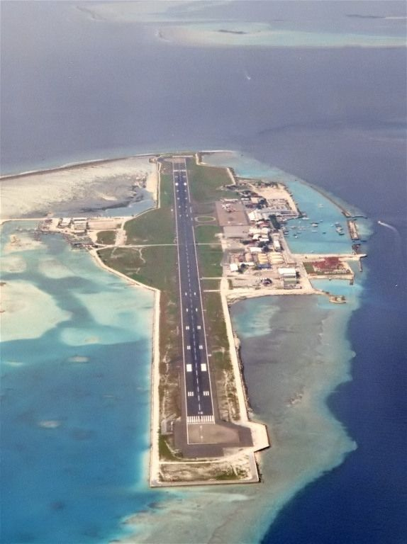 Hulule Island airport, Maldives Copyright: olivier BERNIE