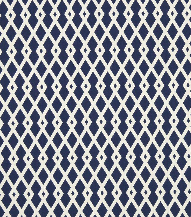 Upholstery Fabric-Robert Allen Graphic Fret Ultramarine, , hi-res