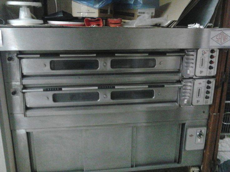 Horno Electrico SALVA, Dos pisos por solo 4000€, Maquinaria de Panaderia y Pasteleria. Panadero de Almeria Vende Horno electrico SALVA. Horno Electrico