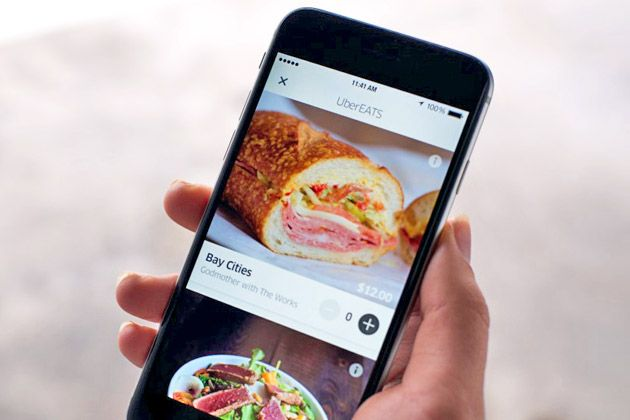 Uber's food delivery service launches in four cities