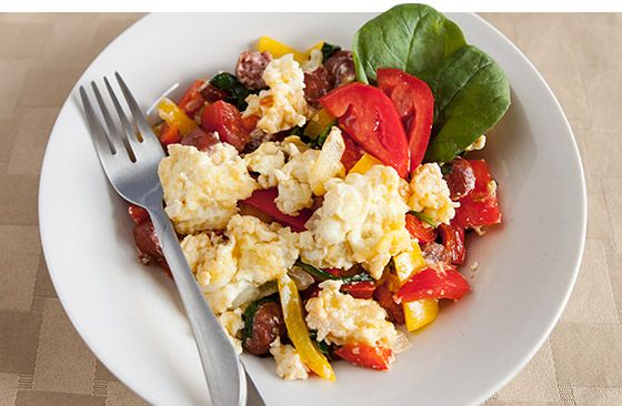 ... Health and Fitness on Pinterest | Breakfast, Track and Egg scramble