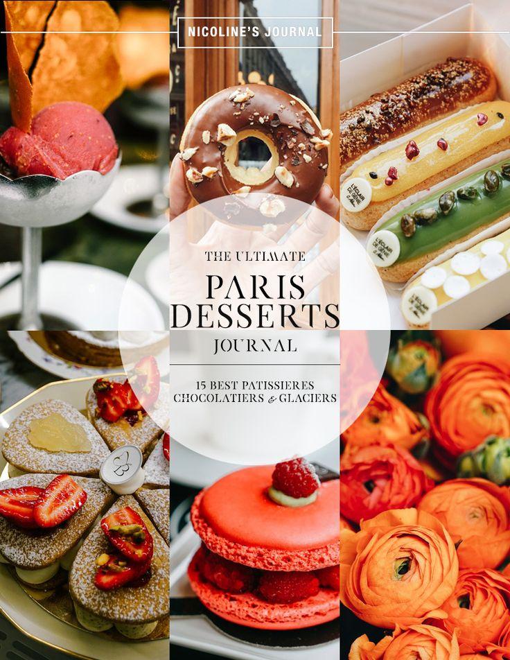 The+Paris+Desserts+Journal:+15+Best+Patisserie,+Chocolatier+and+Glacier