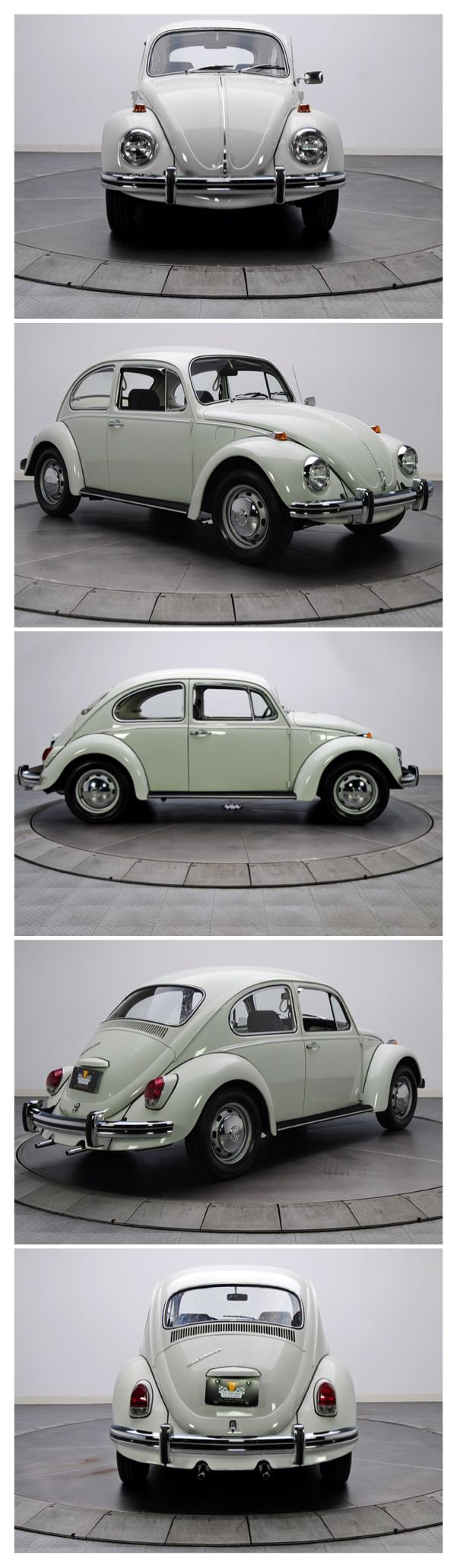 1969 VW Beetle. Mine was in Battleship Grey, first car I owed- paid £250.00 and it cost me £490.00 to insure it! That was when I was 19.
