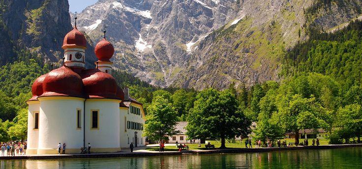 Tourismus-Info Schönau am Königssee in the Berchtesgadener Land