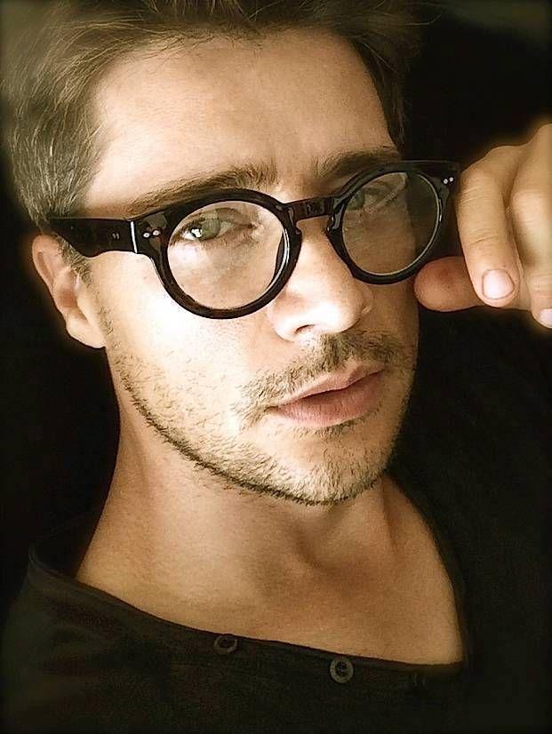 500edf32a Oval Round Circle Thick Black Frame Men Women Clear Lenses Eyeglasses  Glasses