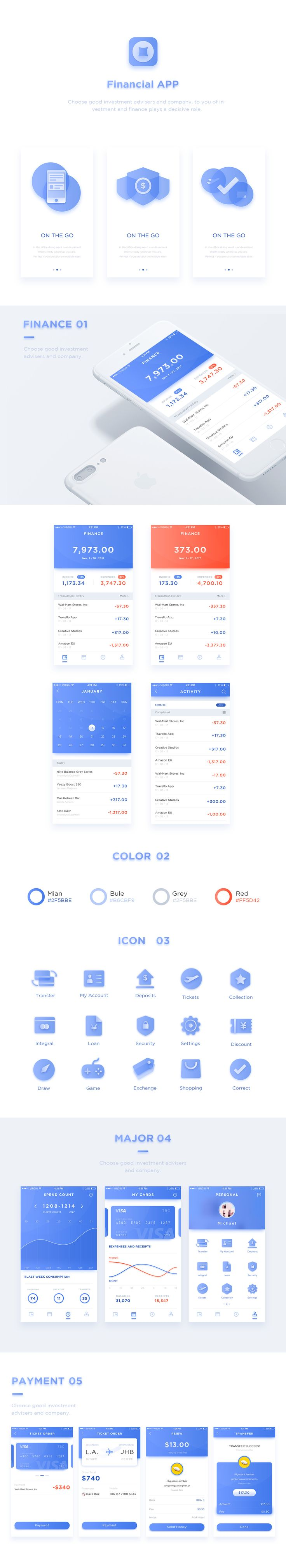 Financial APP UI