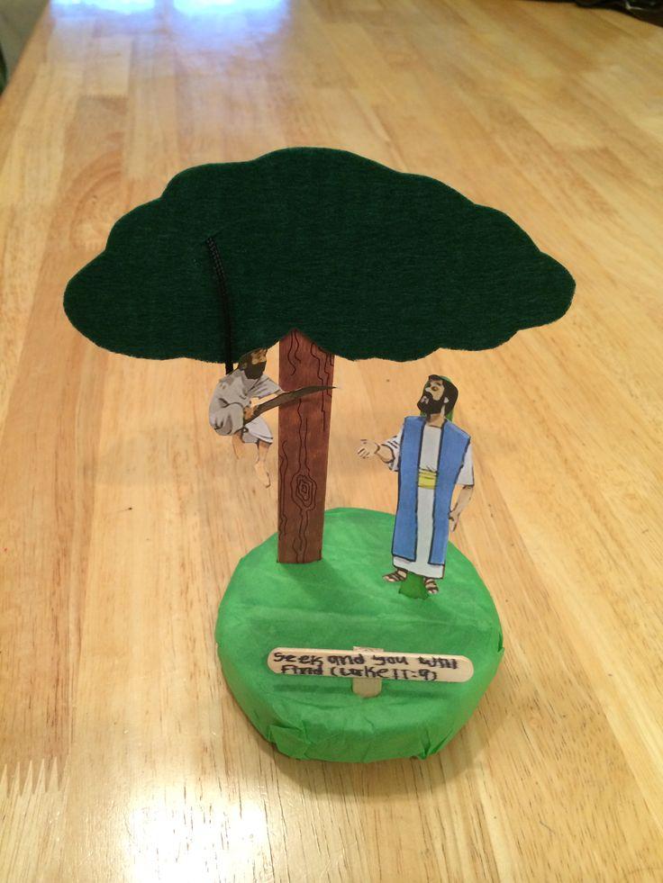 Zacchaeus in a tree//Zaqueo en el arbol | Zacchaeus ...