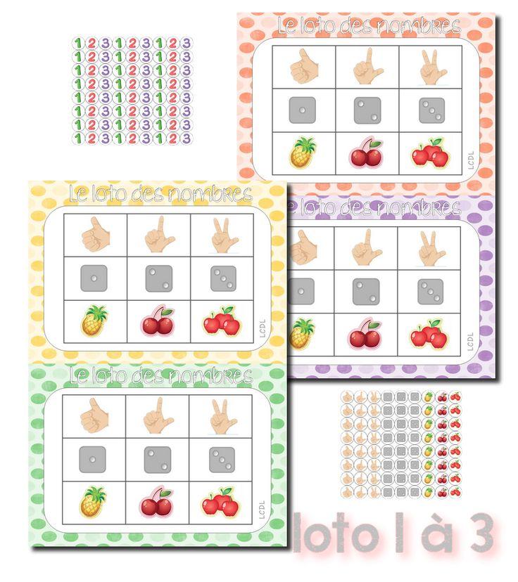 Ajout de la version PS de 1 à 3 ^^ (fiche de prep 2015 globale aux trois lotos plus bas)  (affichages avec images assorties disponibles ...