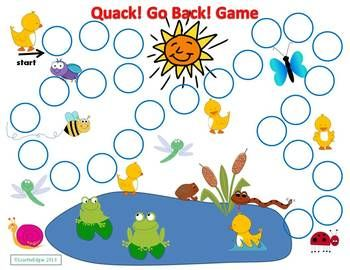 Free! Quack! Go Back! Game is an open-ended board game fun to play while working…