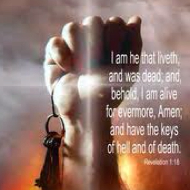 hell   u0026quot i am the living one  i was dead  but look  i am