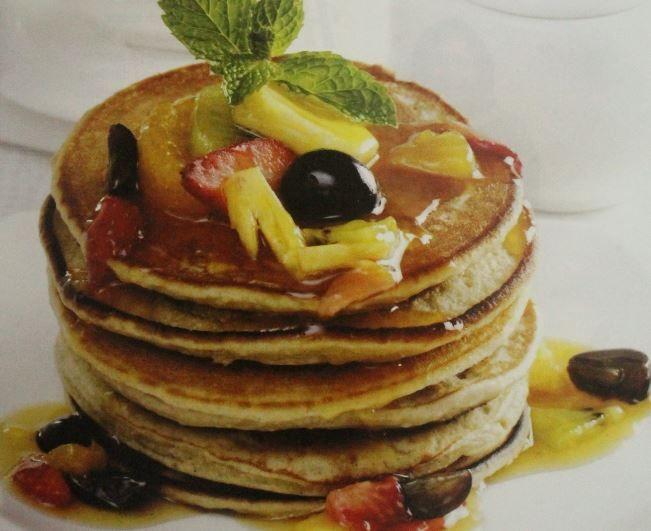 Resep Pancake Saus Buah