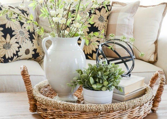 Ideas For Coffee Table Decor Fresh 5 Styling Tips And Coffee Table Decor Ideas Somewhat Simple Decorating Coffee Tables Decor Table Decorations Living room coffee table decorating