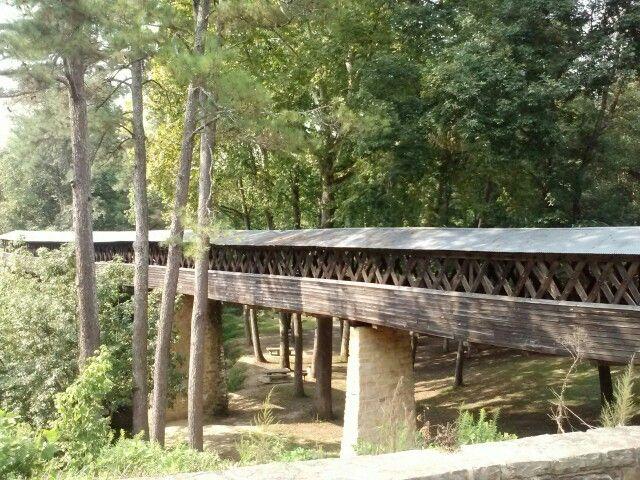 Old covered bridge...cullman alabama