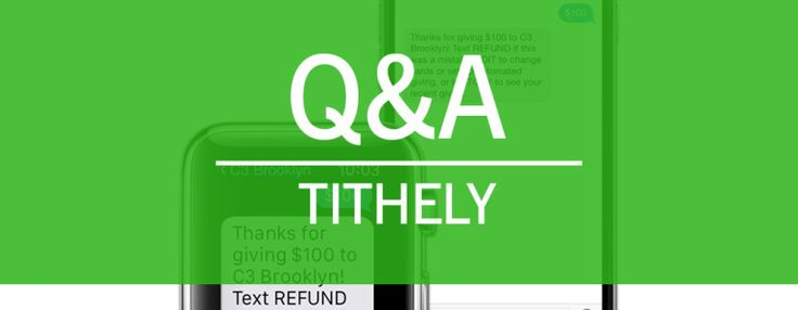 Learn more about Tithe.ly's text and online giving options for churches.