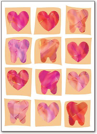 Valentines Day. Love Your Teeth. Wild Smiles Pediatric Dentistry - http://www.wildsmiles.us