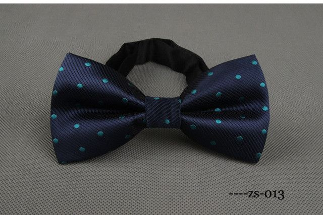 Newest Polyester Men's Bow Tie Brand Classic Dot Solid Ties Bowtie Leisure Business Shirts Bowknot Bow Ties Cravats Accessories