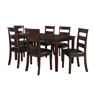 Powell Furniture Linville 7 Piece Dining Set
