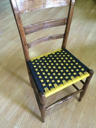 Its Fairly Easy To Find Old Wooden Chairs With Broken Out Seat Bottoms Often The