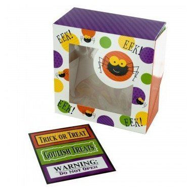 #Halloween For sale online Halloween Treat Boxes for Cupcakes or Cookies - 6 Pack for  Halloween Gifts Idea Stores .  The festival of Halloween takes place on 31st October on a yearly basis. It's also linked with first Celtic history of praising dead ancestors and guardians. The festival has Pagan roots. Distinctiv...
