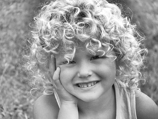 kids curly hair   Source: Flickr users allred_iris and Natty Green (Mamardashvili)