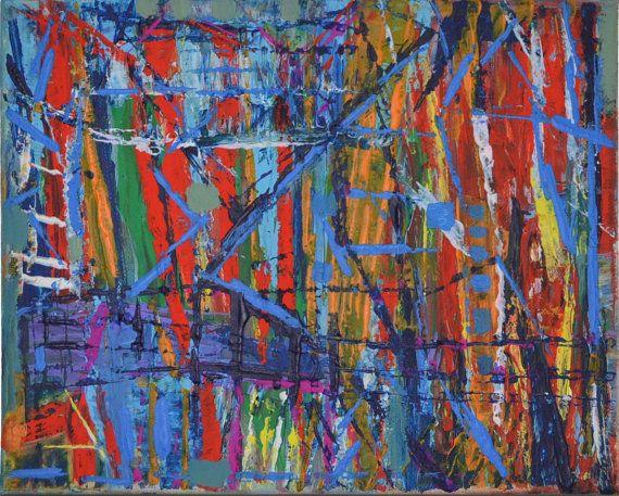 Becker best no.. 8 abstract painting modern by EchteBeckerArtworks