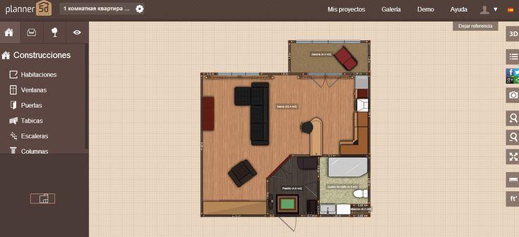 Hacer planos online con Planner 5D | Construye Hogar