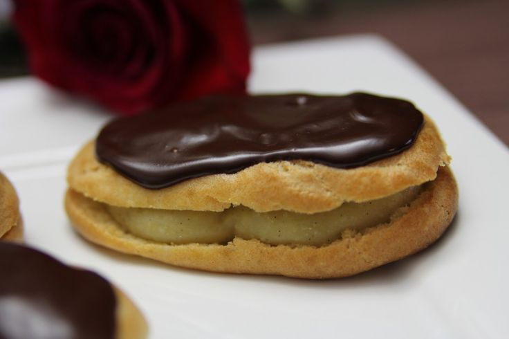 Paleo Chocolate Éclairs  @The Paleo Mom