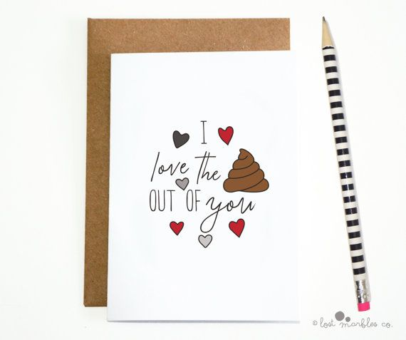 Joke Valentines Card  Funny Anniversary Card  Adult Card by Lost Marbles Co