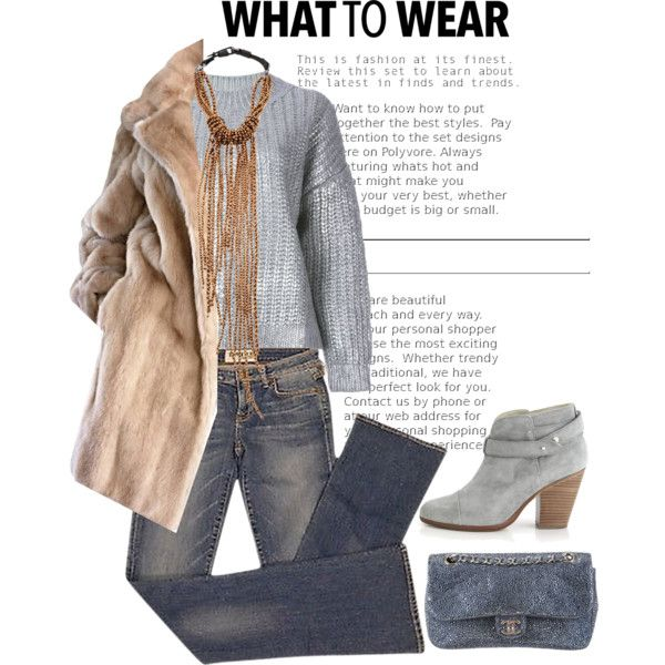 WhatToWear by r-dereli on Polyvore featuring polyvore, fashion, style, DKNY, Elizabeth and James, rag