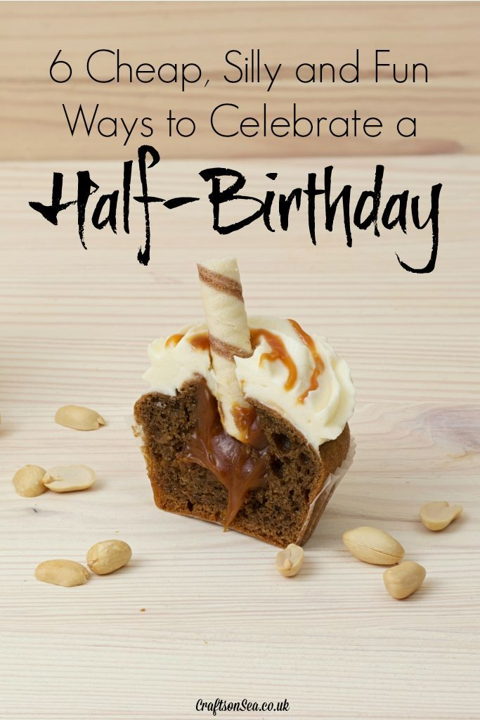 I wouldn't have thought of celebrating a half birthday but these ideas sound like loads of fun and only cost pennies! Pinning to make my kids laugh!