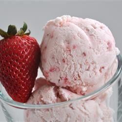 Easy, Eggless Strawberry Ice Cream Allrecipes.com