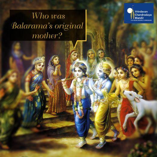 Who gave birth to Lord Balarama? a. Rohini b. Devaki c. Yashoda