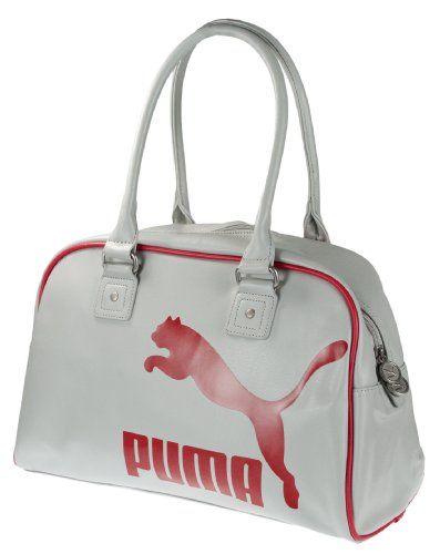 Puma Heritage Women's Duffel Bag Handbag White - http://handbagscouture.net/brands/puma/puma-heritage-womens-duffel-bag-handbag-white/