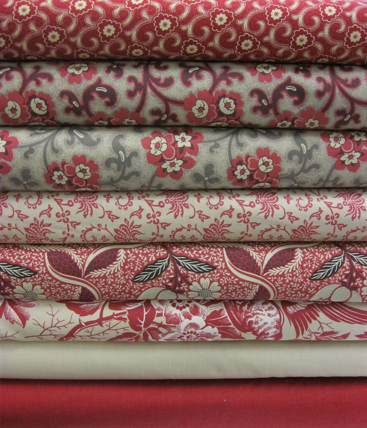 New Chateau Rouge fabrics from French General have arrived at the store. Calico House, Lincoln,NE