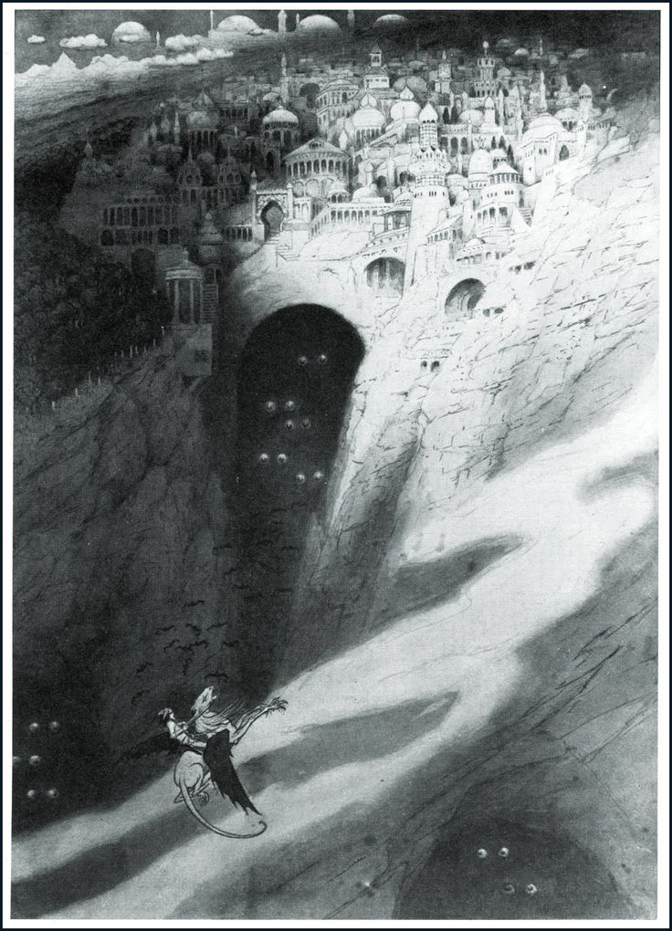 Illustration by sidney sime