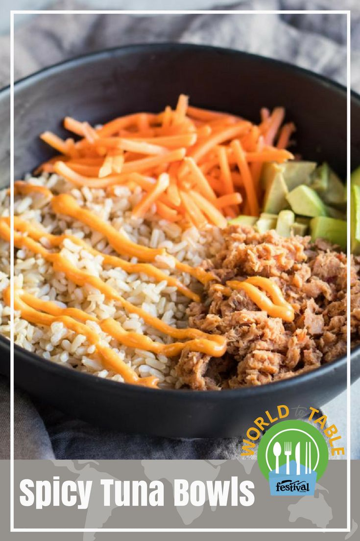 Have five minutes? Make our five ingredient Spicy Tuna Bowl. Not only is this easy meal full of sushi-inspired flavor, but it also packs a nutritious punch with lean protein, heart-healthy fats and whole grains. Multiply the recipe to feed a family or swap ingredients to make it your very own. #bowlrecipes #spicy #tuna #sushi #wholegrain #hearthealthy #quickrecipes #easyrecipes #worldtotable